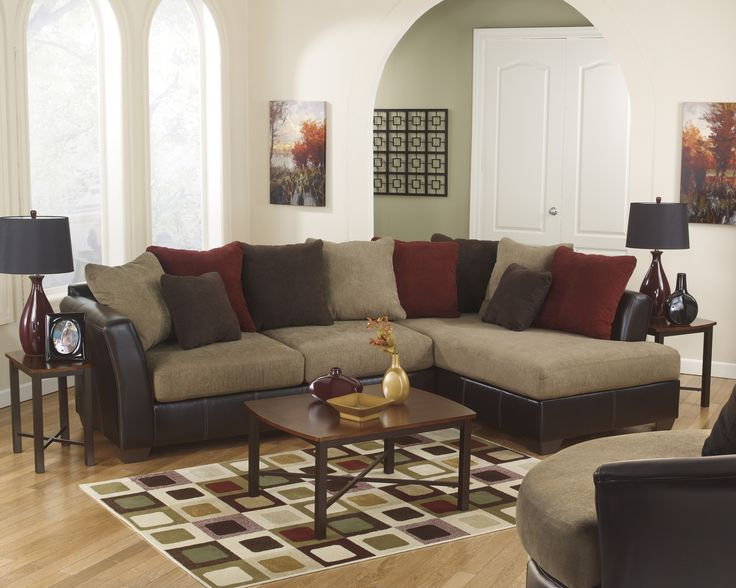 The U0027Sanyau0027 Sectional W/ The Matching Swivel Chair And U0027Abramsu0027 Occasional.  SanyaSwivel ChairLiving Room ...