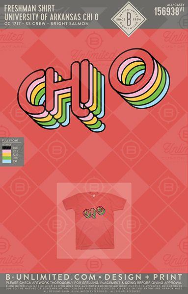 Retro feels all day, err day. UofA Chi O. #BUonYou #greekshirts #greektshirts #greek #sorority #PR #springbreak #bidday #retro #chiomega #XO #chio