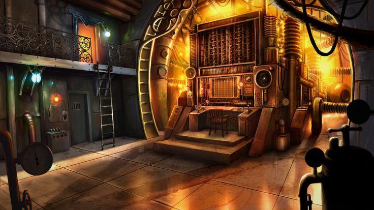 Clockwork Tales: Of Glass and Ink #steampunk #adventure #game #differential #machine #art www.artifexmundi.com/page/clockwork/ www.facebook.com/ArtifexMundi.ClockworkTales