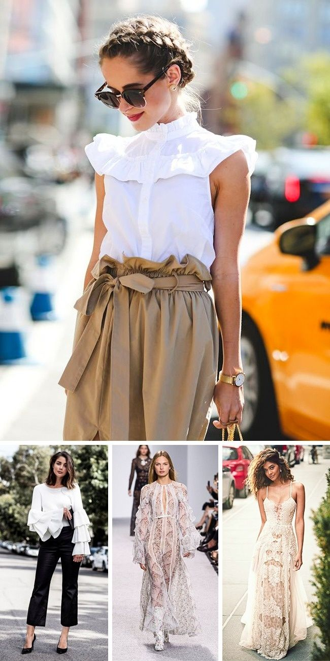 7Main Fashion Trends toLook Forward toin2017