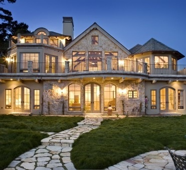Beige stone with lots of windows dream home pinterest for House with lots of windows