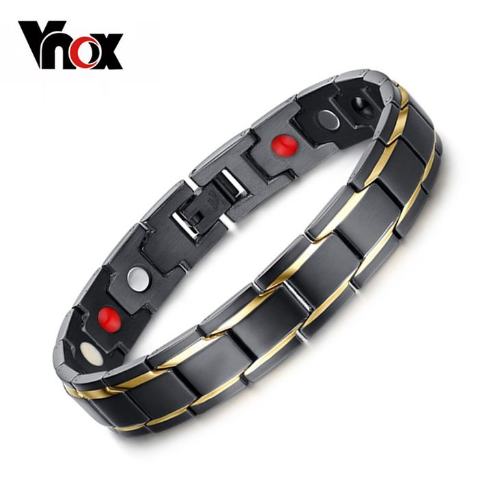 Vnox Black Men's Health Bracelets & Bangles Magnetic H Power Stainless Steel Charm Bracelet Jewelry for Man #electronicsprojects #electronicsdiy #electronicsgadgets #electronicsdisplay #electronicscircuit #electronicsengineering #electronicsdesign #electronicsorganization #electronicsworkbench #electronicsfor men #electronicshacks #electronicaelectronics #electronicsworkshop #appleelectronics #coolelectronics