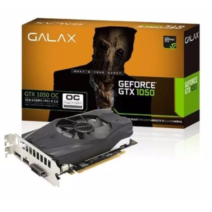 เช็คราคาลดสุดๆ<SP>GALAX GTX 1050 OC 2GB 128-bit DDR5++GALAX GTX 1050 OC 2GB 128-bit DDR5 Base Clock (MHz) 1366 Boost Clock (MHz) 1468 Memory Speed 3504 (7008) Mhz Standard Memory Config 2048MB Memory Interface Width 128-bit DDR5 Memory Bandwidth (GB/sec) ...++