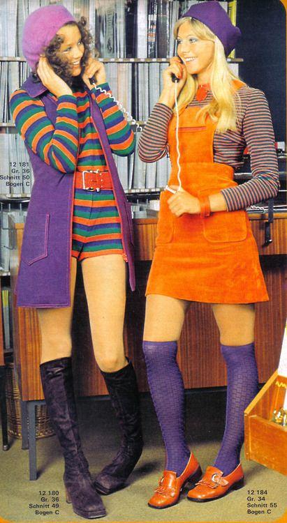 Mi atuendo favorito; botas, enterito de minishort y chaleco 3/4. Vivan los '70 !!!!!