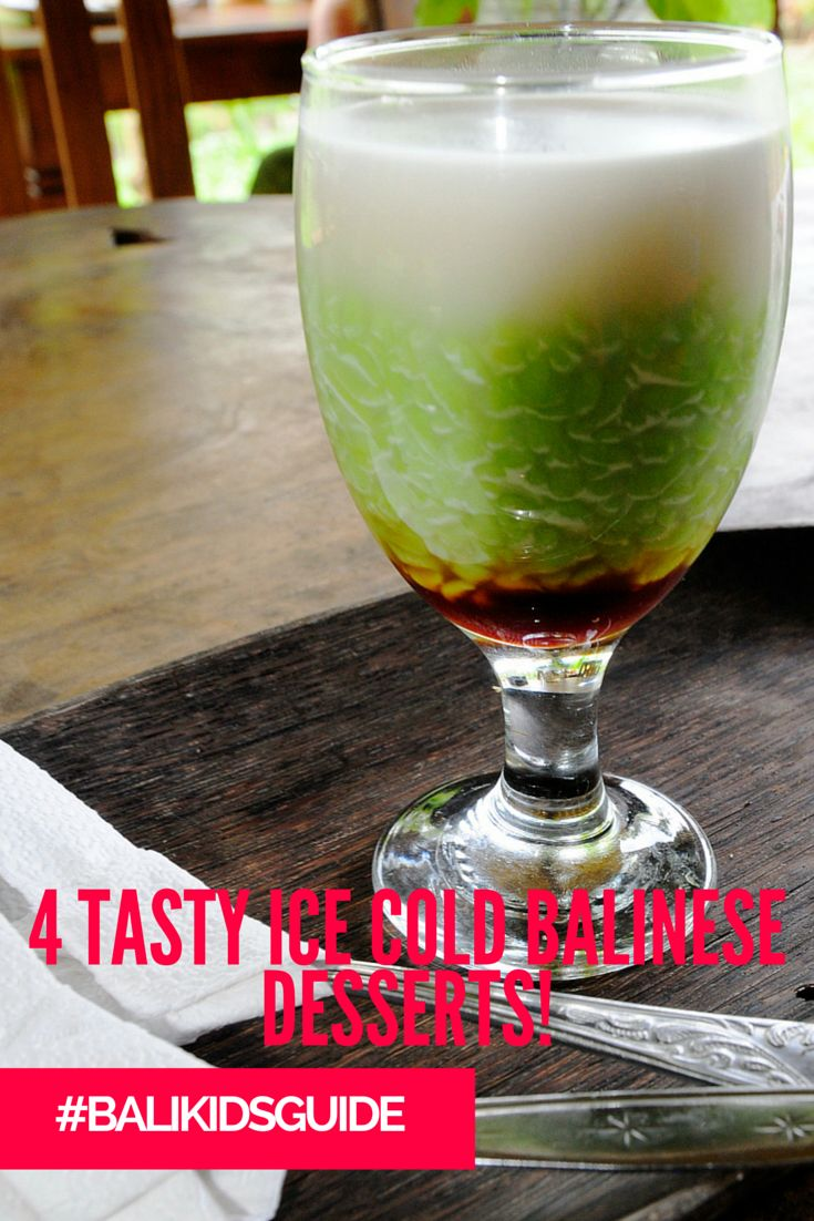 As Bali heats up you'll need to try a few of these tasty, ice-cold Balinese treats!
