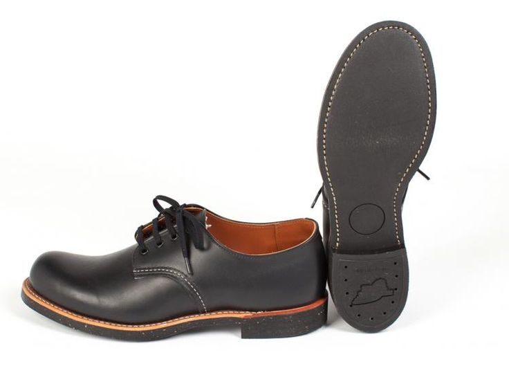 Red Wing Shoes  - 8051 Foreman Black Star
