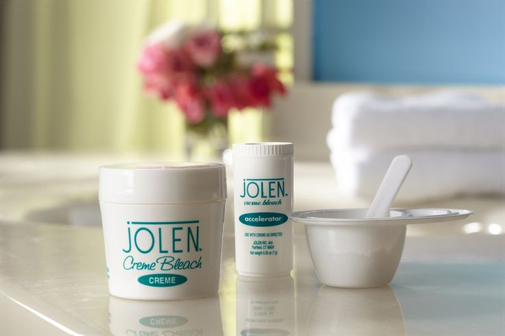 How to Bleach Facial Hair with Jolen Creme Bleach.  For upper lip, hairline, cheeks...Jolen is simple to use. #GoConfidently