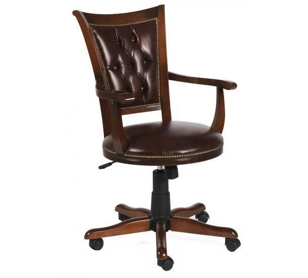 Hercules Kontorstol - Brun - Brun kontorstol med brunt sæde