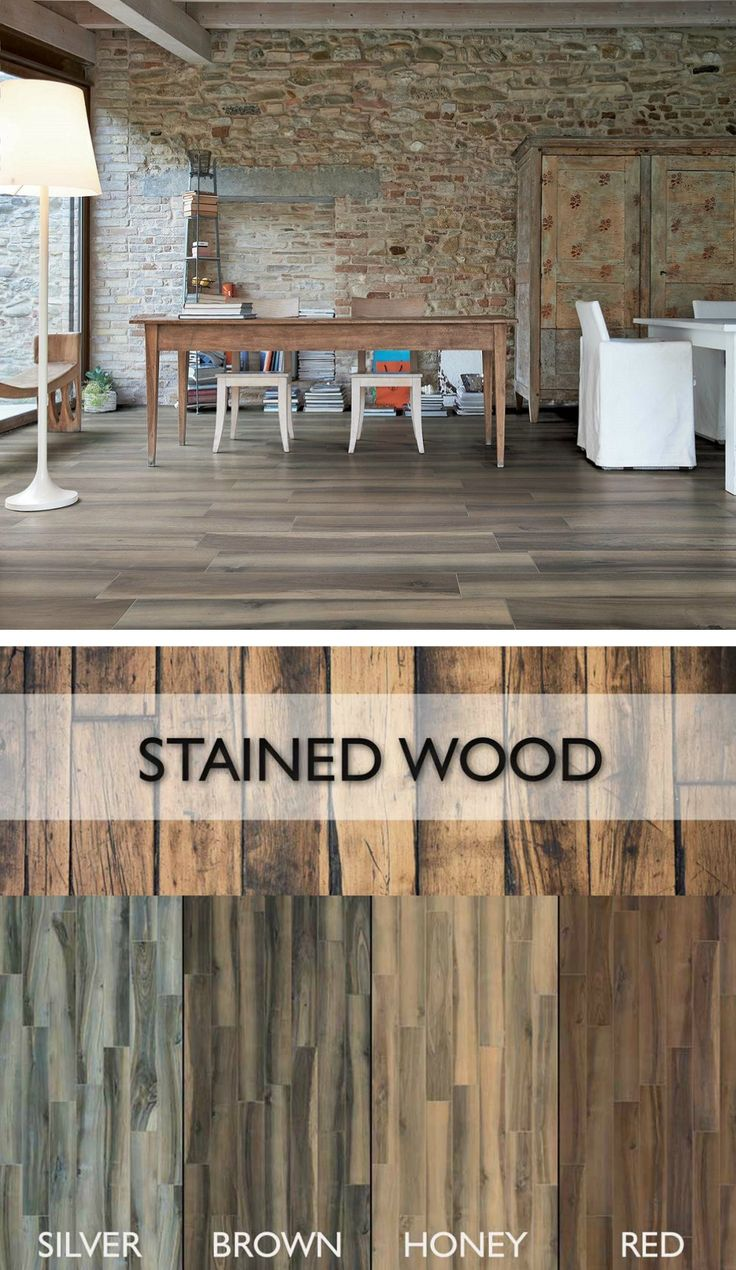 Wood Look Porcelain Tile: 42 Best Images About Wood Look Porcelain Tile Floors On
