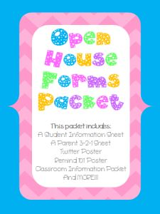 Open House Forms Packet- they need to be edited, but they are awesome!!!
