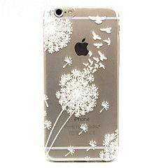 Chebi paardebloem patroon TPU mobiele telefoon soft shell voor iPhone 6 plus