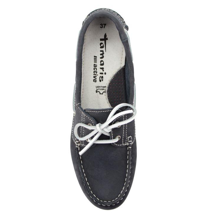 Kék színű Tamaris vitorlás cipő | ChiX.hu cipő webáruház