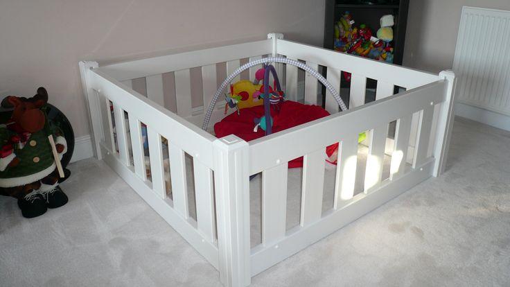 Baby Playpen in White - Tekplas