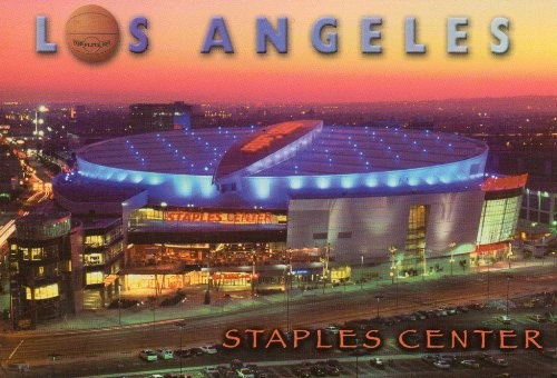 LOS 124 LOS ANGELES STAPLES CENTER POSTCARD POST CARD – LA333 from Hibiscus Express