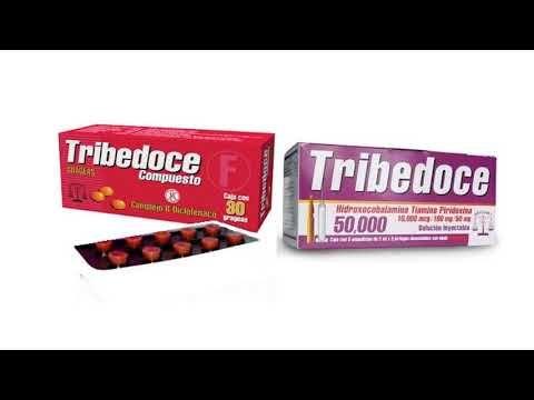 TRIBEDOCE para que sirve: Presentación dosis y efectos