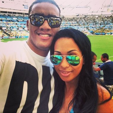 Anselmo Ralph assiste Mundial de futebol com a sua esposa Madlice Cordeiro  http://angorussia.com/?p=20613