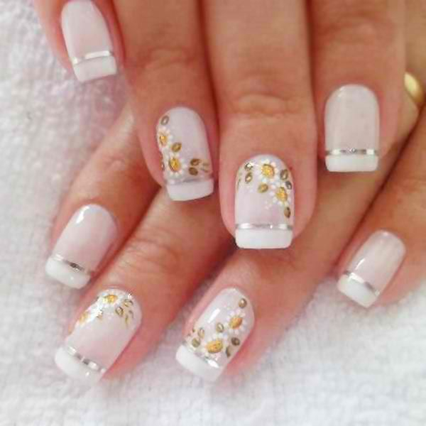 Spring Floral Blossom Nails Art Ideas for Summer.