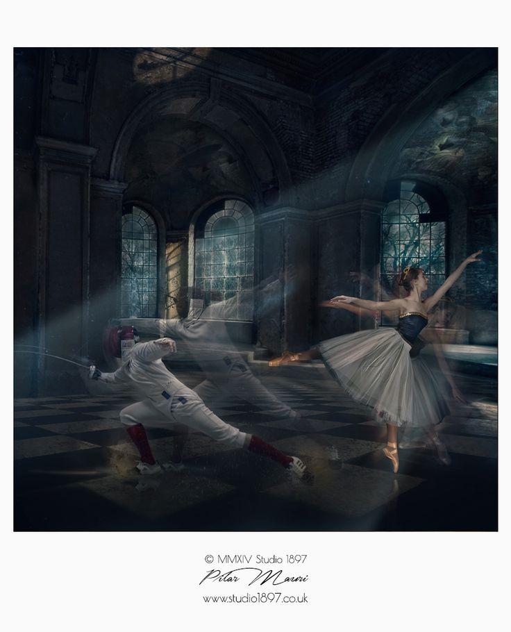 Portrait Photography & Set Design by Pilar Mauri studio1897.co.uk #photography #setdesign #portrait #studio1897 #fineartphotography #dance
