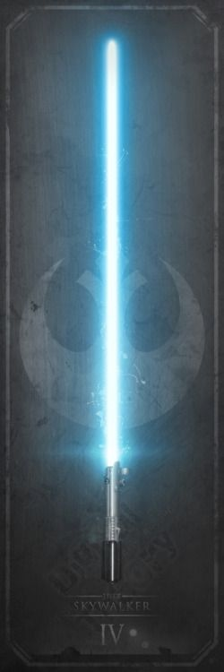 """pixalry: """"Elegant Weapons: Lightsabers - Created by Anthony GenuardiA note from the artist: """"Inspired by the most coveted weapons in all of Geekdom, from one of the most beloved film franchises of all time, these are the first of my 'Elegant Weapons'..."""