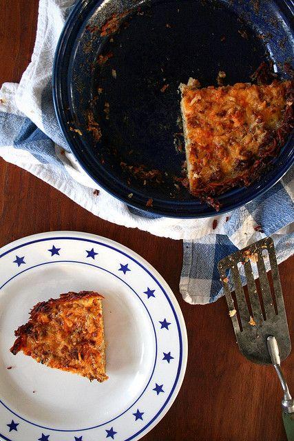 Cauliflower cheese pie by Megan | When Harry Met Salad (use sweet ...