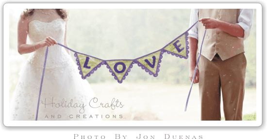 DIY Bunting Banner Step by Step Instructions with Template