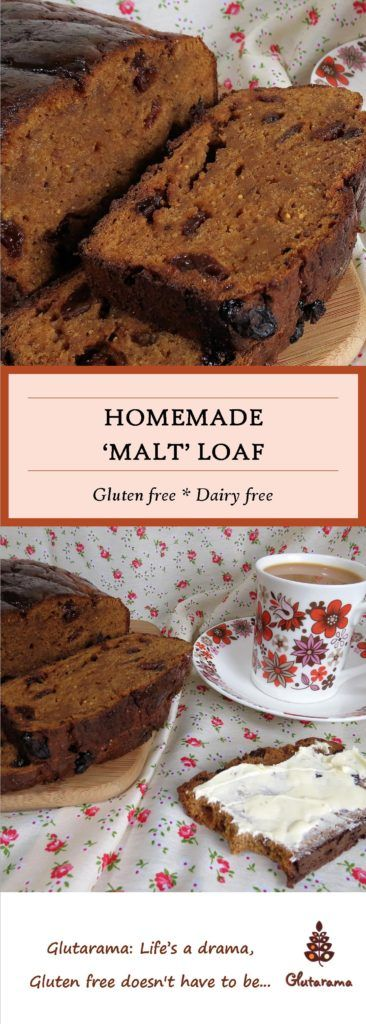 Gluten Free and Dairy Free Malt Loaf