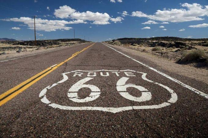 ルート66 絵になる道路