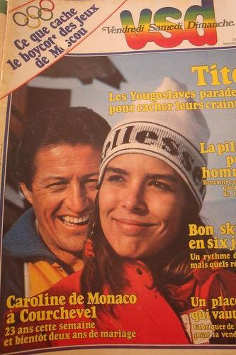 VSD N°125 Caroline de Monaco  1980