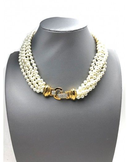 a215f9f68c5b El Jardín Del Deseo Bisutería fina de diseño original. Compra Originales  Collares Cortos de Perlas