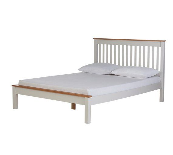 Collection Aspley Small Double Bed Frame Two Tone At Argos Co Uk