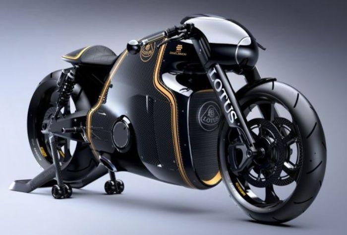 The Lotus C-01 is a Helluva Superbike