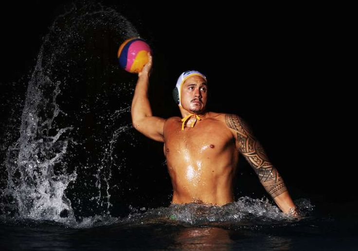 The best sports pictures of 2016:      Joe Kayes of Australia poses during an Australian Olympic Games water polo team portrait session at Sydney Olympic Park Aquatic Centre on July 6 in Sydney, Australia.