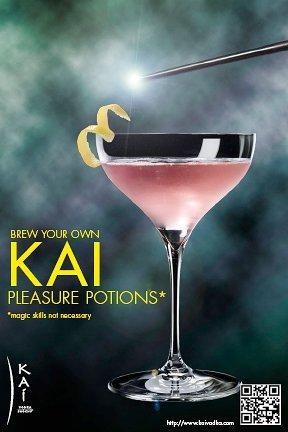 #Kai Vodka... make it your own