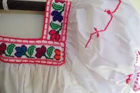 Resultado de imagen para imagenes de blusas bordadas yucatecas a mano