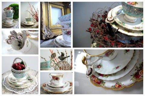 Vintage Crockery & China Hire in London, Kent, Essex - Sweet Tea Party