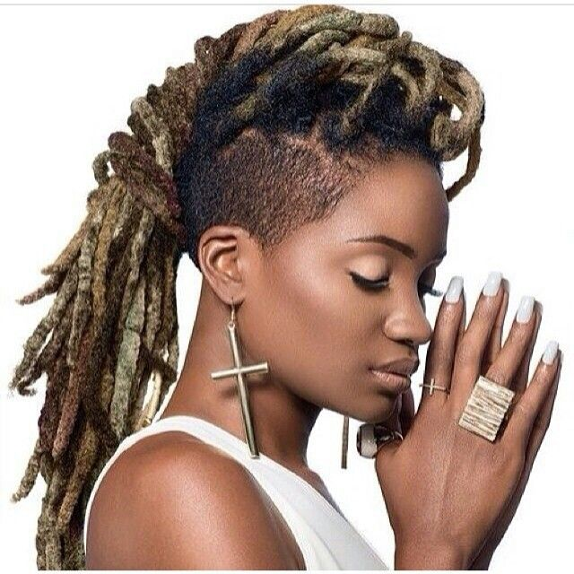 Fine Dread Mohawk Dreadlocks Pinterest Posts Dreads And Mohawks Hairstyle Inspiration Daily Dogsangcom