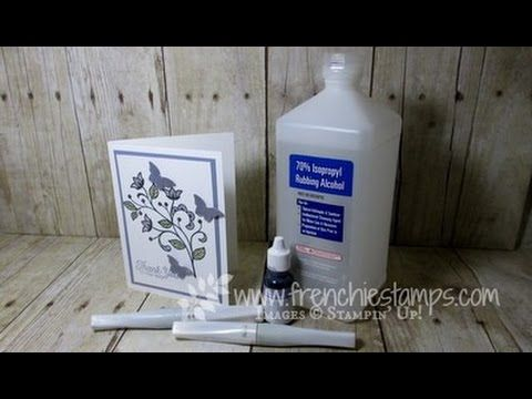 Stamp & Scrap with Frenchie: Recycle Wink of Stella Pen  Tip of the Day