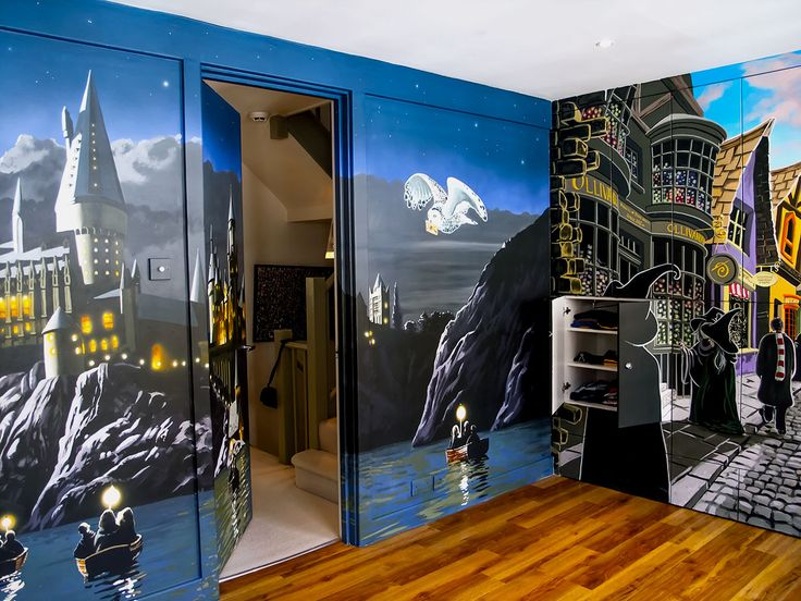 Harry Potter Mural | Sacredart Murals