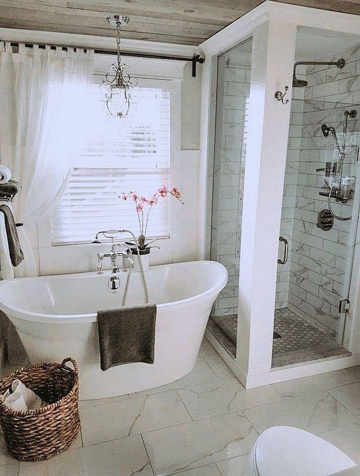 ↗ 99 modèles de salle de bains principale extraordinaires, voici quelques conseils simples pour les projets si vous souhaitez rénover …