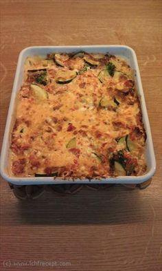 LCHF Recept: Bacon & grönsaker i Västerbottensås | LCHF Recept.com