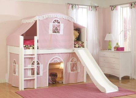 How cool is this!: Kids Beds, Kids Bedrooms, Girls Bedrooms Decor, Bunk Beds, Girls Bedrooms Design, Cottages, Loft Beds, Girls Rooms, Kids Rooms
