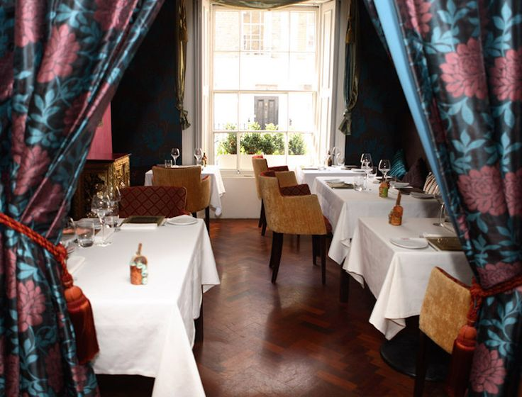 Vineet Bhatia's Michelin-starred Rasoi serves innovative Indian food in the charmingly small front dining room of a Chelsea townhouse