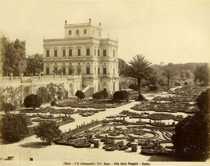 Fratelli D'Alessandri - n. 310 - Roma - Villa Doria Pamphilj - Casino