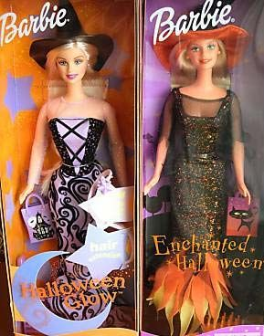 List & pictures of all Halloween Barbie Dolls