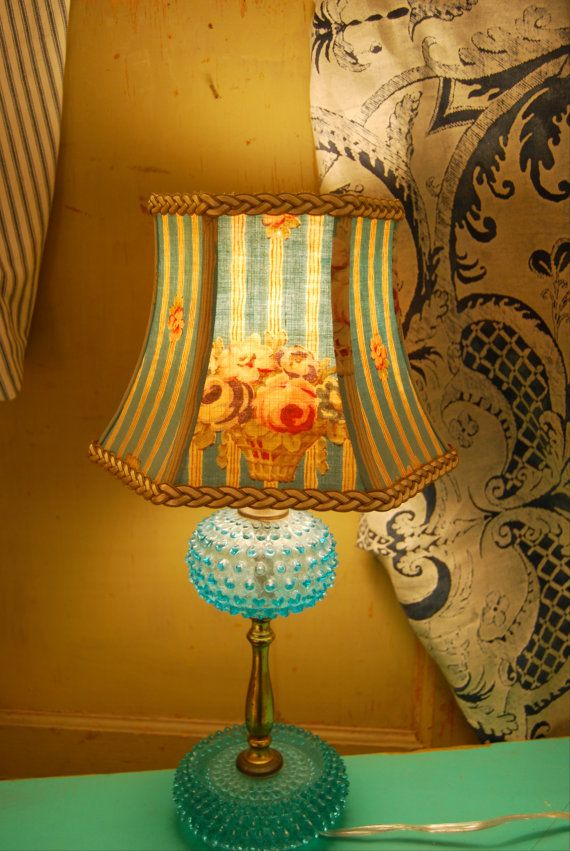 The 25+ best Turquoise lamp shade ideas on Pinterest ...