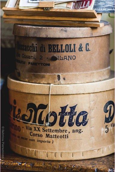 panettone motta vintage