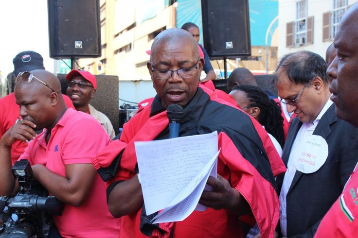 Ahead of the September 27anti-Zuma protest, trade union federation COSATU believes that Jacob Zuma's ten years service was a huge loss to the country.