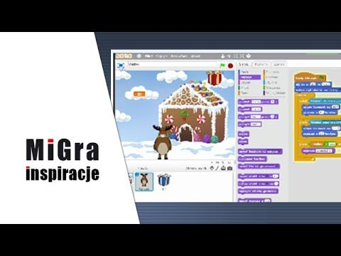 Świąteczna gra w programie Scratch | Inspiracje - programowanie - YouTube