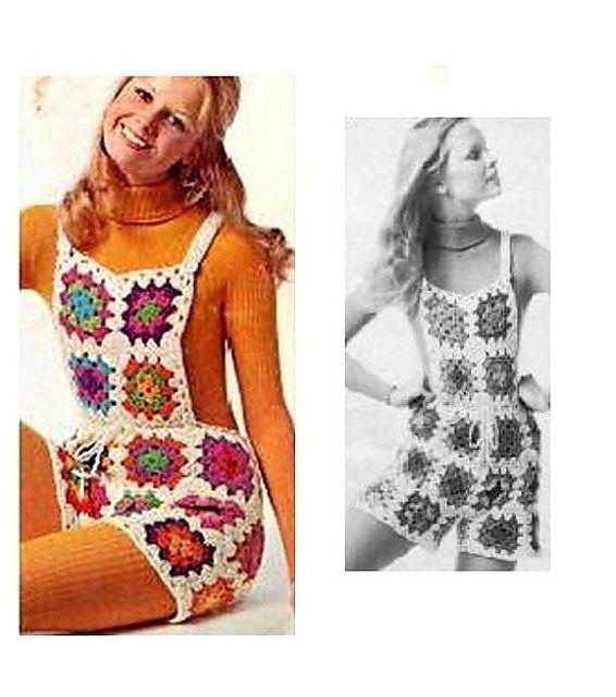 Vintage Shortalls FREE Crochet Pattern