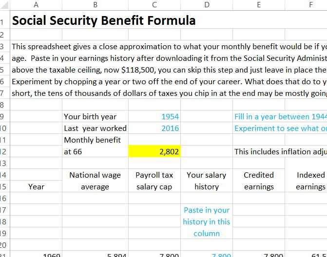 Find out how your earnings history is converted into a monthly benefit.